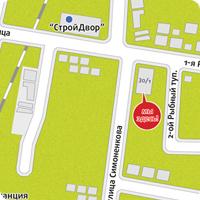 Карта для листовки Pechatai.net