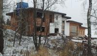 Дом на склоне. Процесс стройки. ноябрь 2012