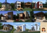10 домов.