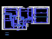 1 чертеж рабочей документации (объект до 100м2)