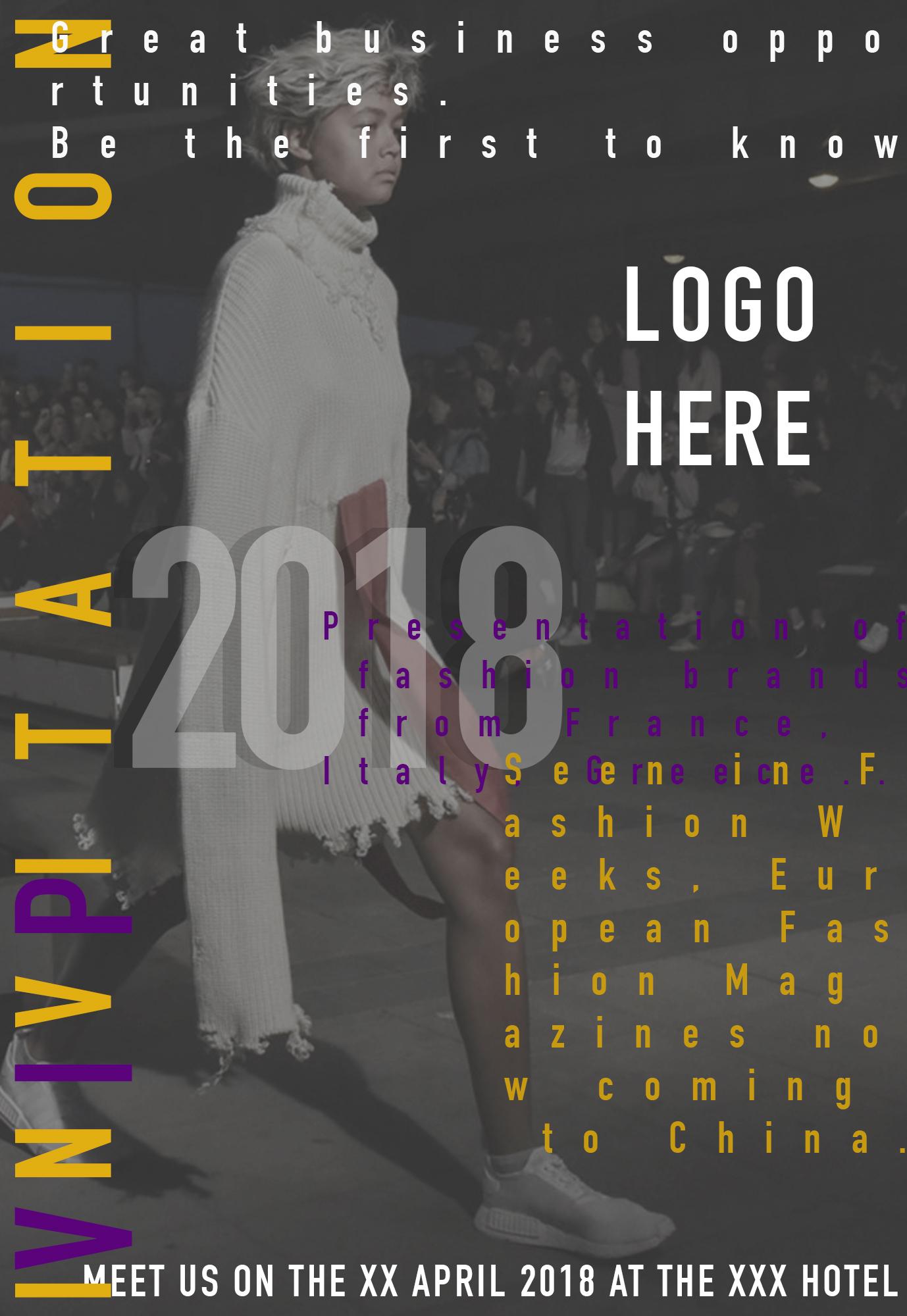 Флаер для модного мероприятия фото f_3155a69edd53ed25.jpg