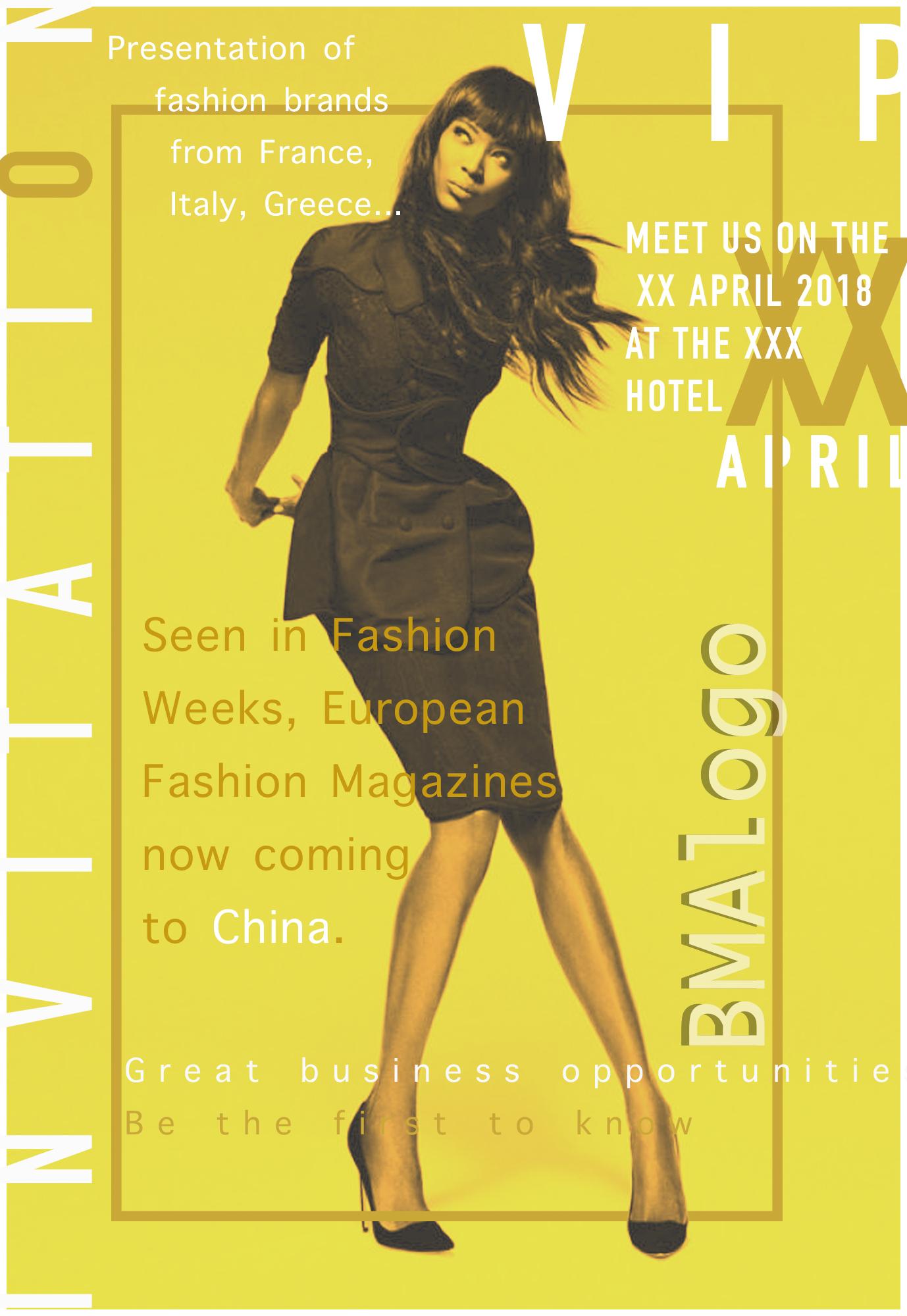 Флаер для модного мероприятия фото f_7965a69eddd34691.jpg