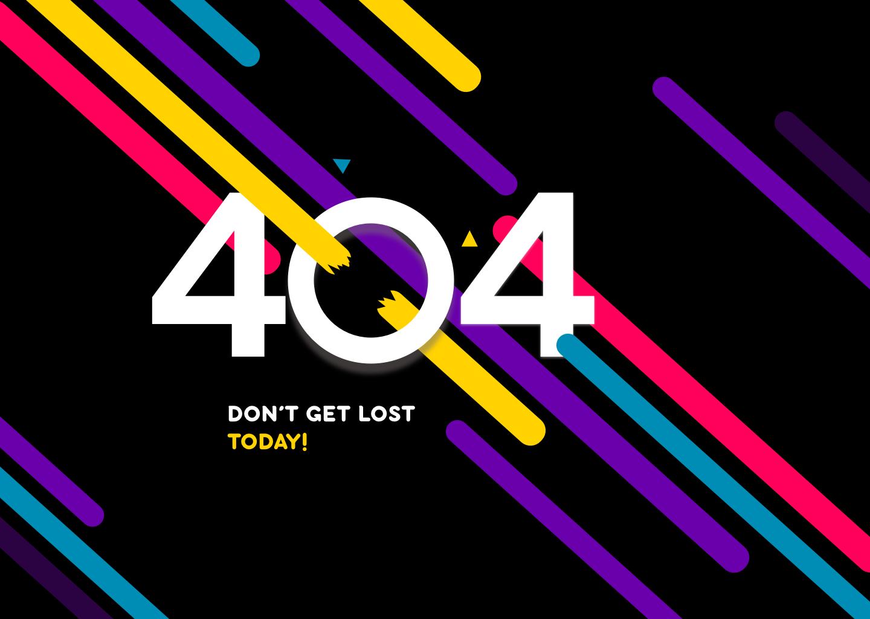 404-ая страница для сайта