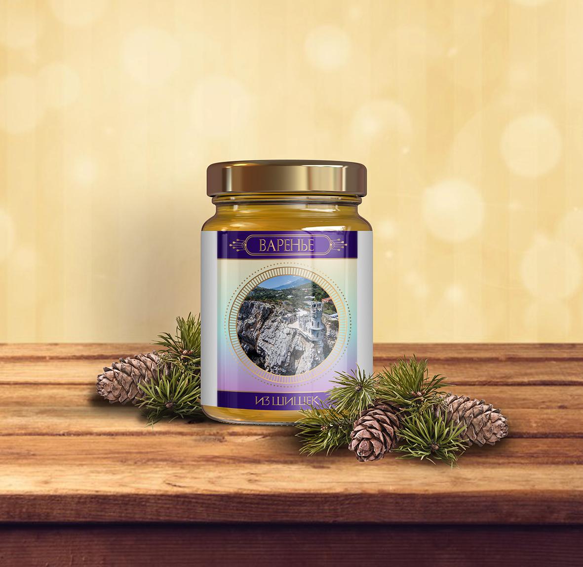 Дизайн подарочной-сувенирной коробки: с чаем и варением фото f_8555a57cb4a7324b.jpg