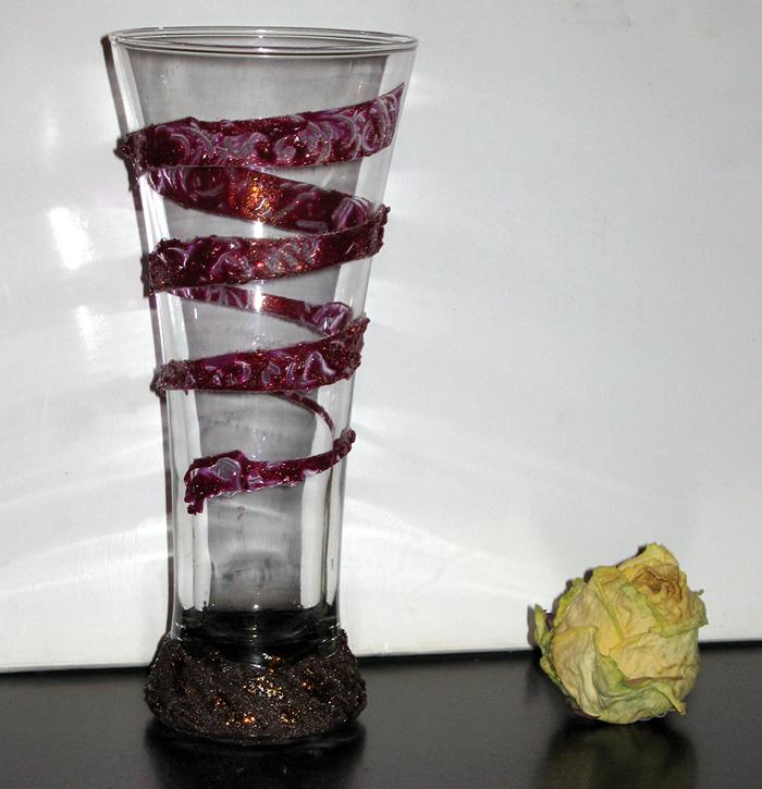 Декорирование бокала