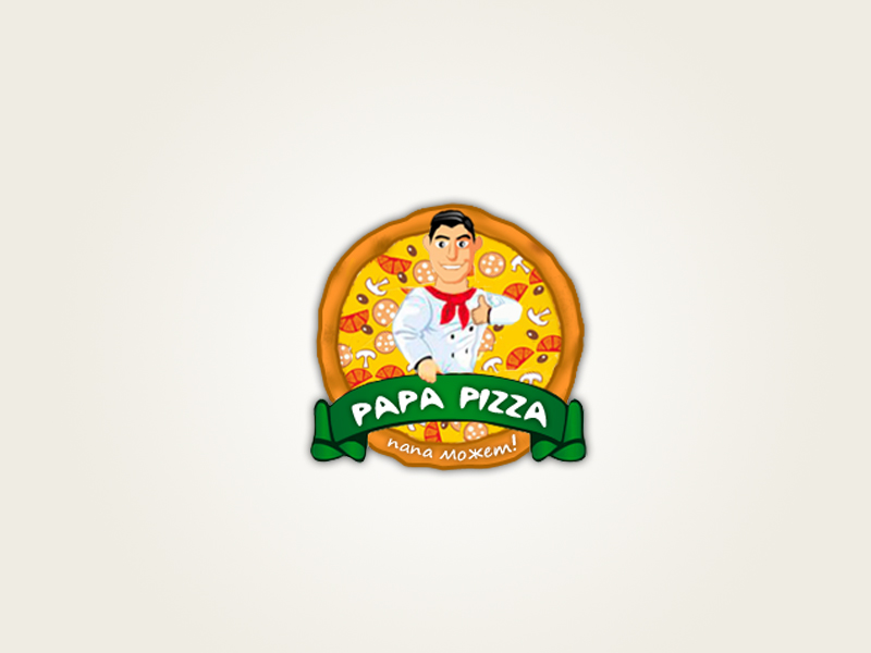 Логотип для papizza