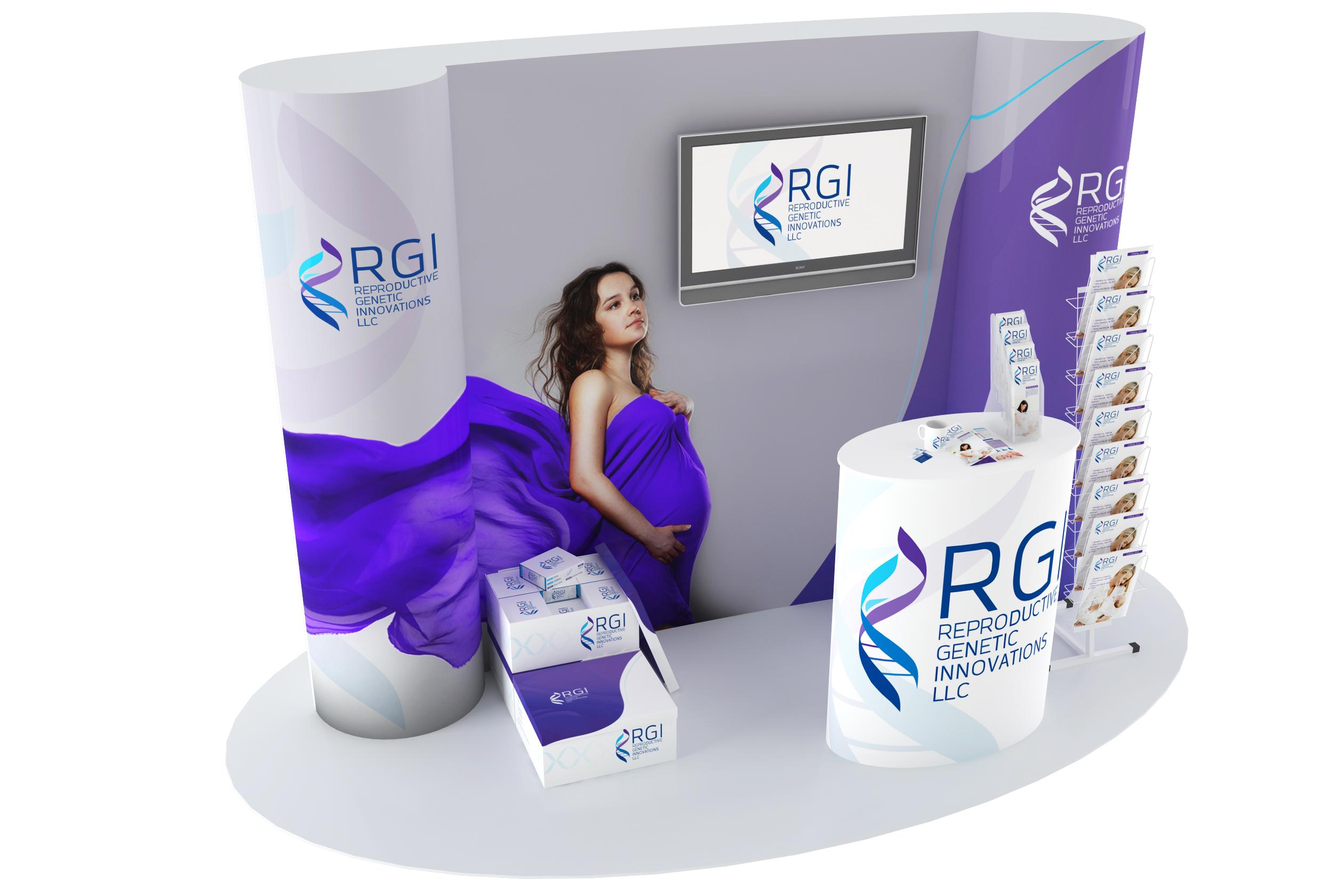 Стенд для клиники репродуктивной медицины