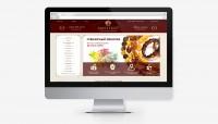Дизайн  сайта для интернет магазина  янтарных украшений