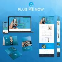 Портативная одноразовая батарея - дизайн сайт