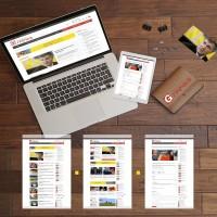 Дизайн Информационного портала