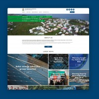 Дизайн сайта для департамент планирования Бермуд