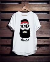 Дизайн для футболки hipster
