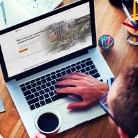 Инвестирование в недвижимость | дизайн сайта