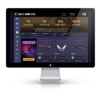 Дизайн сайта игры csgo
