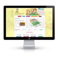Дизайн интернет магазина продажа игр для деток