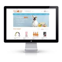 Дизайн сайта для зоомагазина