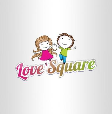 Love Square разработка логотип для мобильного приложения