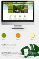 Дизайн интернет магазина косметики