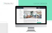 Сайт  компании по продаже и снятии жилых и не жилых помещений