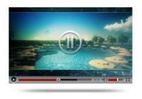 Рекламный ролик для 3д видео дизайна