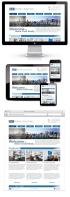 Адаптивный дизайн для агентства недвижимости