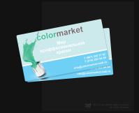 Визиточка для магазина красок