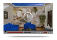Видео ролик дизайн, ремонт квартир в 3d