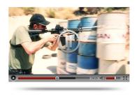 видео полигона для стрельбы