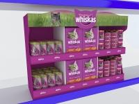 Торговые стенды для Whiskas 3d