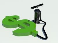 качаем доллары в 3d