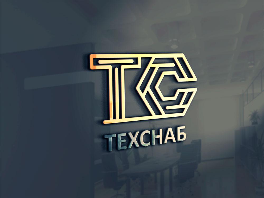 Разработка логотипа и фирм. стиля компании  ТЕХСНАБ фото f_3795b1c438f28863.jpg