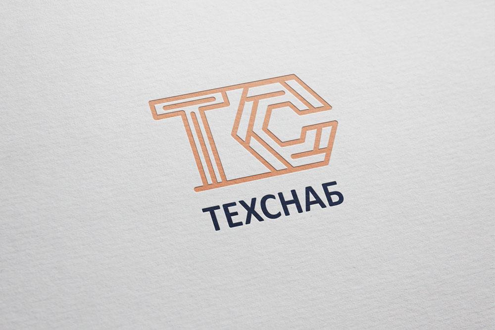 Разработка логотипа и фирм. стиля компании  ТЕХСНАБ фото f_9835b1c43939798d.jpg