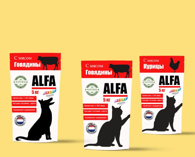 Создание дизайна упаковки для кормов для животных. фото f_7595ae4719ba012a.png