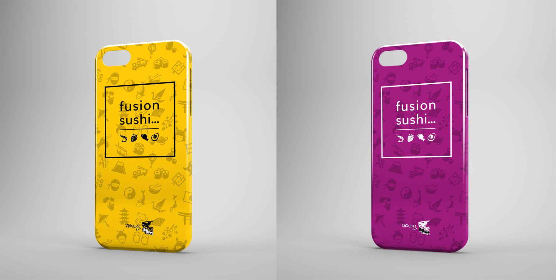 Дизайн чехлов для доставки суши Fushion Sushi (Iphone 6)