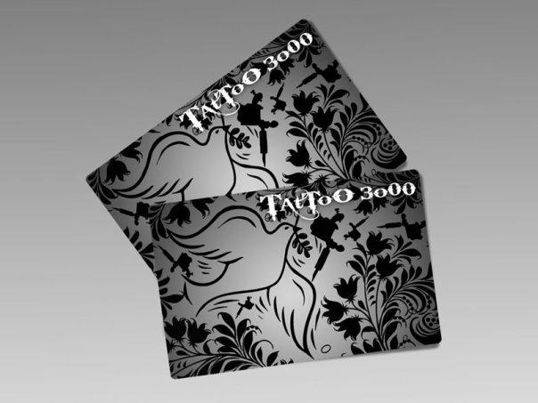 Карточки для тату-салона