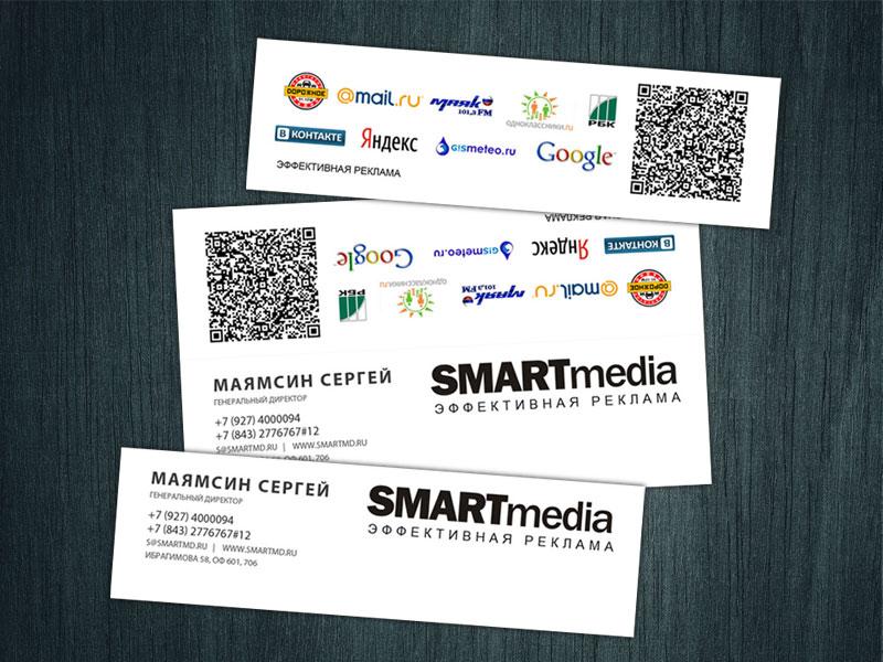Визитки Smart media