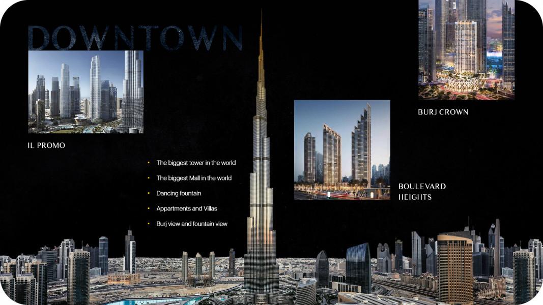 EMAAR недвижимость в Dubai