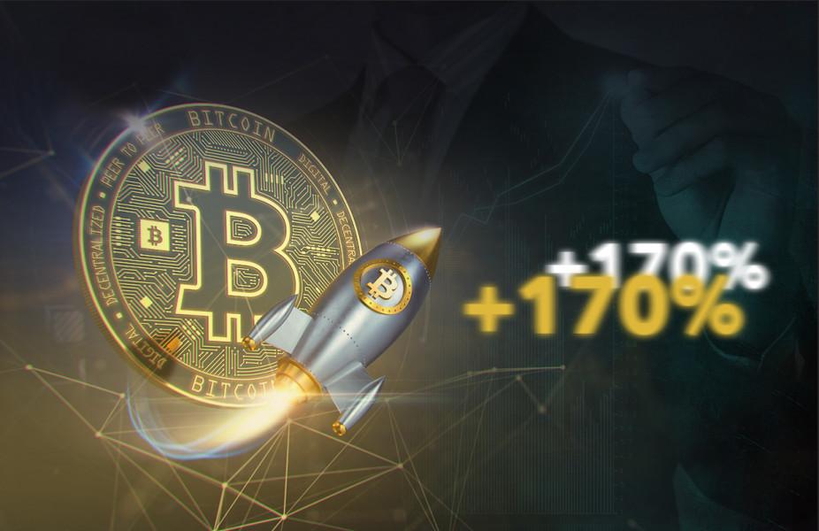 Bitcoin рост креатив