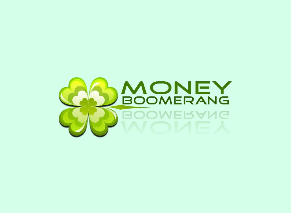 "Логотип для сервиса микро кредитования ""Money boomerang"""