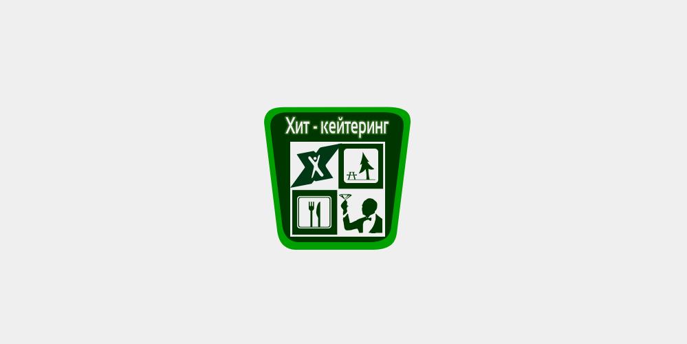 Логотип для сервиса по доставке еды ХИТ Кейтеринг