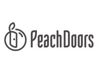 Peach Doors