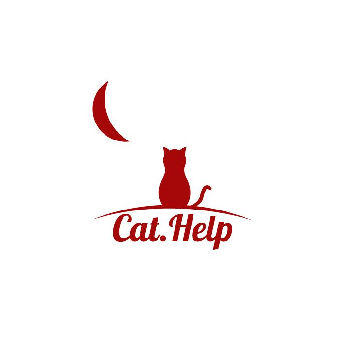 логотип для сайта и группы вк - cat.help фото f_45259de34697b1b3.jpg