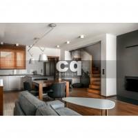 2015 частные интерьеры: фото дизайна дома в современном стиле 150м2_1