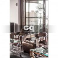2015 частные интерьеры: фото дизайна квартиры в стиле ар-деко / арт-деко (art deco) 135м2_3