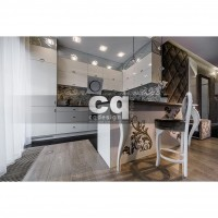 2015 частные интерьеры: фото дизайна дома в стиле ар-деко / арт-деко (art deco) 180м2_5