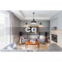 2015 частные интерьеры: фото дизайна дома в классическом стиле 270м2_2