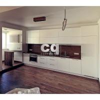2015 частные интерьеры: фото дизайна кухни в квартире в современном стиле 108м2
