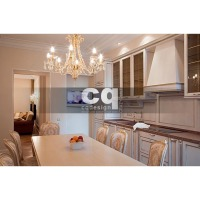 2013 частные интерьеры: фото дизайна квартиры в классическом стиле 96м2___3