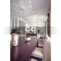 2014 частные интерьеры: фото дизайна столовой в квартире в классическом стиле 102м
