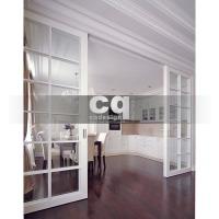 2014 частные интерьеры: фото дизайна кухни-столовой в квартире в классическом стиле 102м